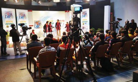 Team Navonmesh performed at Doordarshan Studio